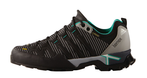 adidas Terrex Scope GTX Shoes Women mgh solid grey/core black/shock mint s16